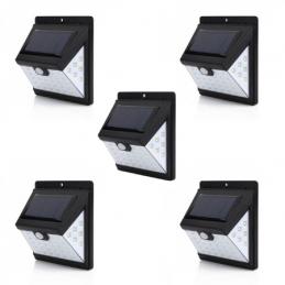 Set of Five 40 LED Solar...