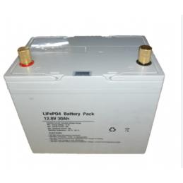 12.8V 30AH LiFePO4 Lithium...