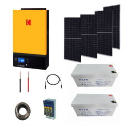 Kodak Solar Kit 3kva with...